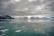 File picture of Norway's Kongsfjord off the coast of Ny-Alesund. An expert says ratification of the Sea Law is more urgent than ever, citing the importance of global communications links and also the melting ice in the Arctic that is opening up shipping
