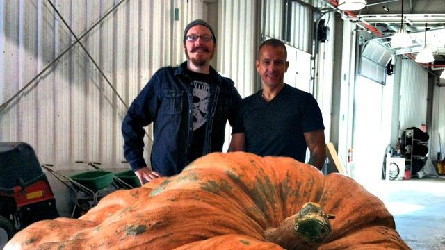 1,872-Pound Zombie Pumpkin Will Blow Your Gourd