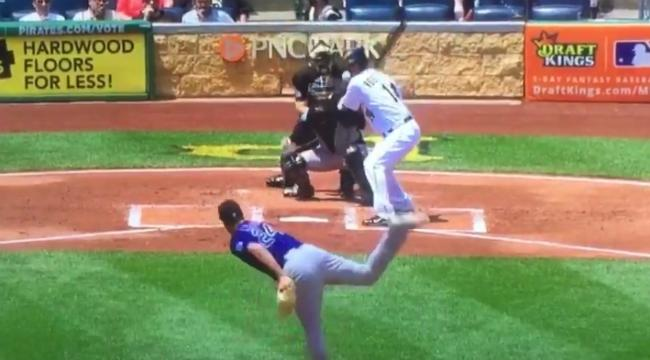 Pirates Pitcher Ryan Vogelsong Took A Fastball Right To The Face