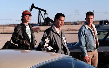 Garrett Hedlund , Jay Hernandez and Lucas Black in Universal Pictures' Friday Night Lights