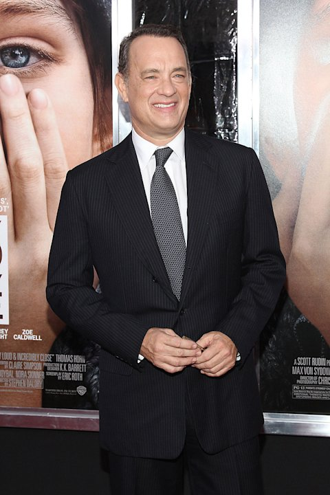 Extremely Loud and Incredibly Close 2011 NY Premiere Tom Hanks