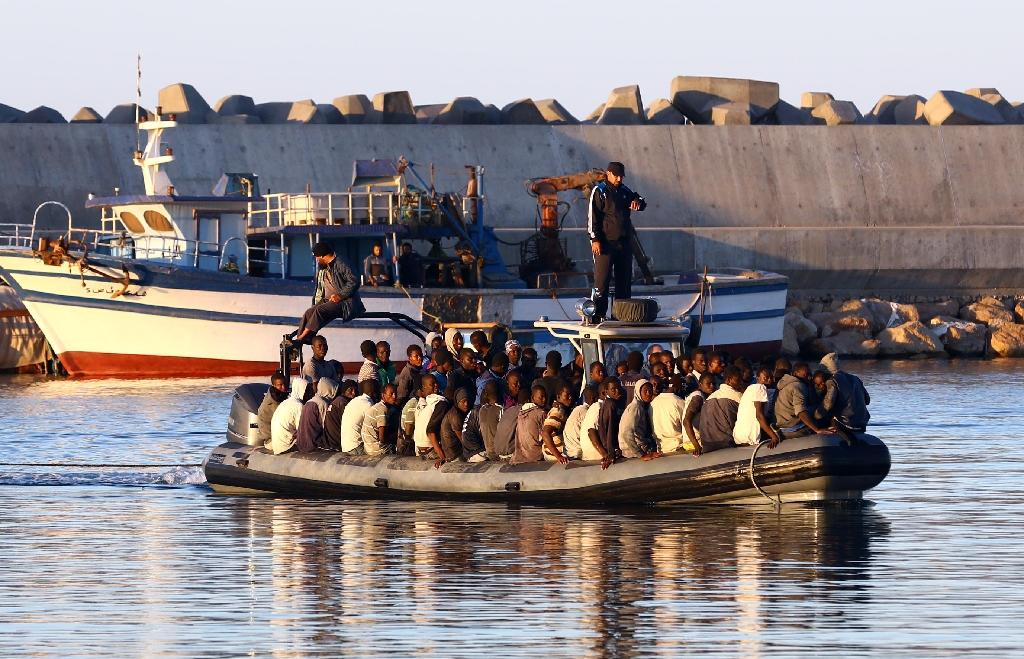 At least 30 die as boat with 200 migrants sinks off Libya: coast guard