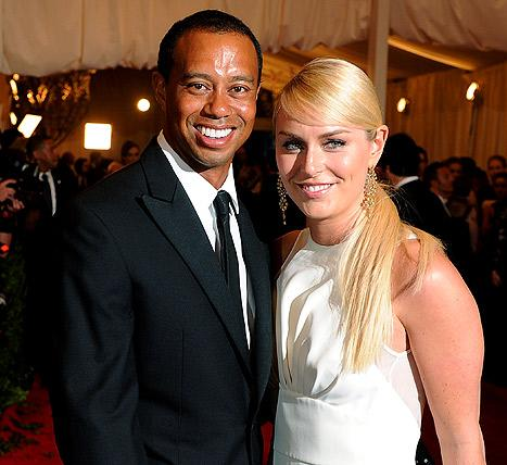 "Lindsey Vonn on Boyfriend Tiger Woods: ""We're Happy"""