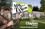 Max Your Tax Refund* with Clayton Homes