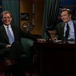 "Conan Demands ""Change the Channel! Dave's On!"""