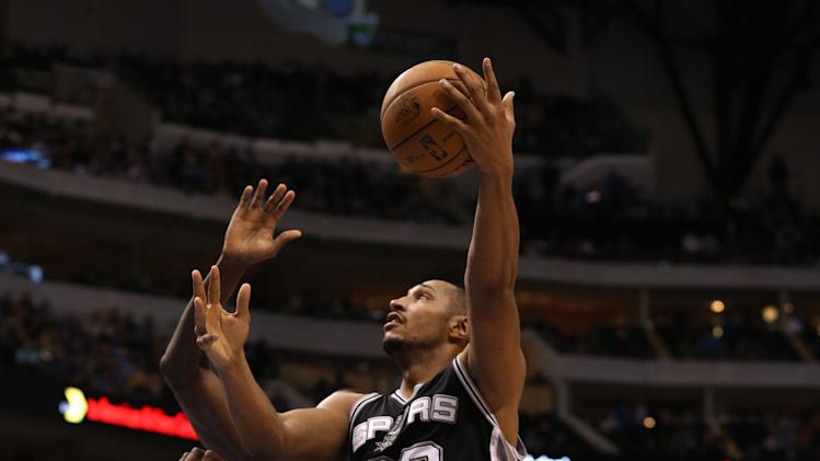 NBA: San Antonio Spurs at Dallas Mavericks