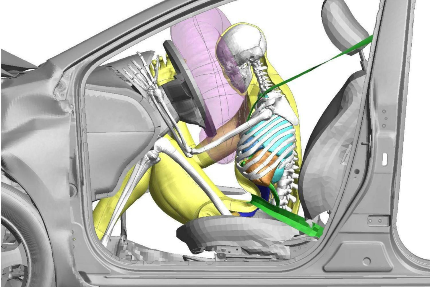 Toyota adds child models to its virtual crash dummy software