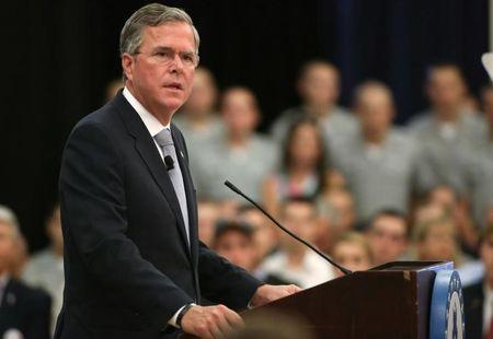 In show of financial strength, Bush campaign forms expansive finance team