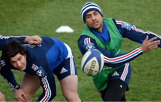RUGBYU-FRA-6NATIONS-TRAINING