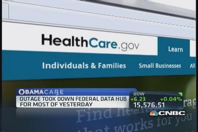 Outage took out Federal data hub