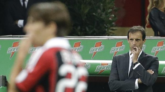 Massimiliano Allegri Milan 2012 AP/LaPresse