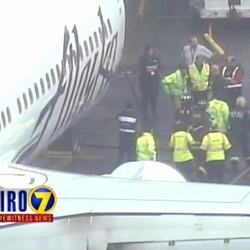 Baggage Handler Stuck In Cargo Hold Called 911 After Takeoff