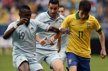 Oscar delighted with first Brazil goal