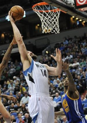 Warriors rally from 21 down to beat Timberwolves