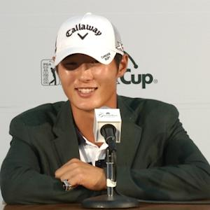 Danny Lee news conference after winning the The Greenbrier Classic