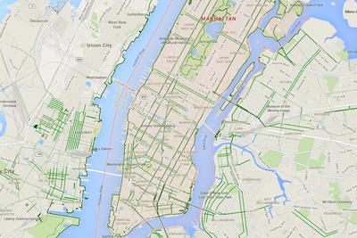 Cyclists report a disproportionate number of errors to Google Maps