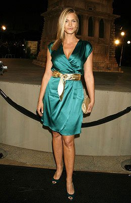 Natasha Henstridge at the Los Angeles premiere of Paramount Pictures' Cloverfield