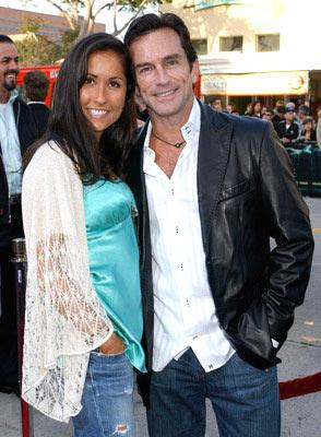 Julie Berry and Jeff Probst from 'Survivor' at the Westwood premiere of Warner Bros. Pictures' House of Wax