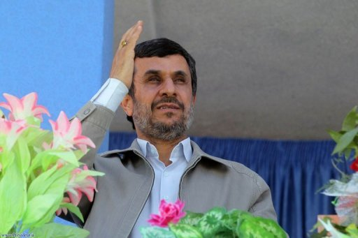 Iranian President Mahmoud Ahmadinejad, seen here on April 12, has said Tehran will respond with force to any threats to its territorial integrity. Ahmadinejad added the Islamic republic would prefer to cooperate with its Arab neighbours to maintain security in the Gulf