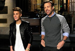 Justin Bieber and Jason Sudeikis&nbsp;&hellip;