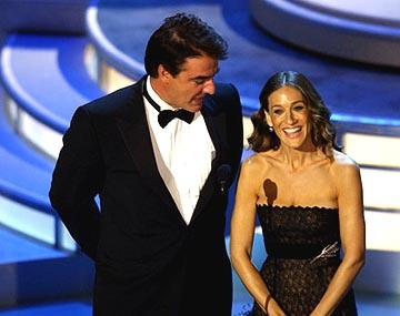 Chris Noth and Sarah Jessica Parker Presenters for Outstanding Supporting Actor in a Comedy Series Emmy Awards - 9/19/2004