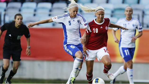 Women's Euro - Denmark-Finland draw gives England hope