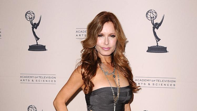 Tracey Bregman arrives at the 40th Annual Daytime Emmy Awards nominee reception at the Montage Beverly Hills on Thursday, June 13, 2013 in Beverly Hills, Calif. (Photo by Scott Kirkland/Invision/AP)