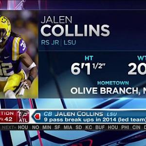 Atlanta Falcons pick LSU cornerback Jalen Collins No. 42 in 2015 NFL Draft