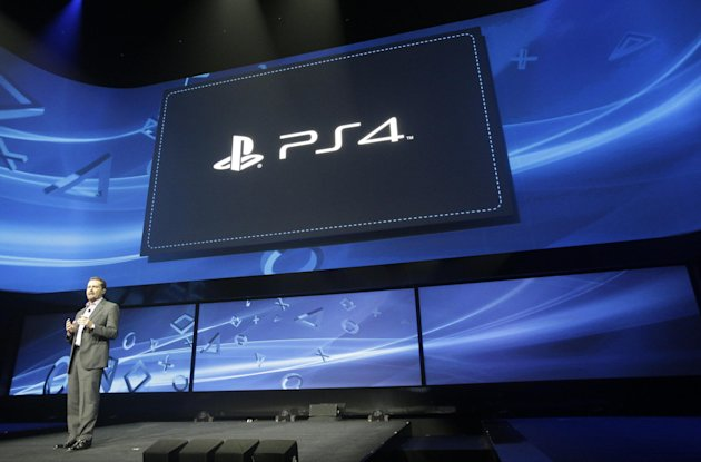FILE - In a Feb. 20, 2013, file photo, Andrew House speaks at an event to announce the Sony Playstation 4 in New York. Sony Corp. plans to go into deeper detail at Electronic Entertainment Expo in June in Los Angeles about the system. (AP Photo/Frank Franklin II, file)