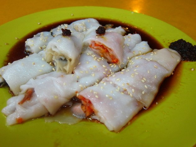 "Fave Five ""Pigs Intestine Noodle"" or Chee Cheong Fun"