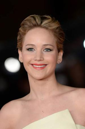 Jennifer Lawrence attends the 'Hunger Games' Event during the 8th Rome Film Festival at the Auditorium Parco Della Musica on November 14, 2013 in Rome, Italy -- Getty Images