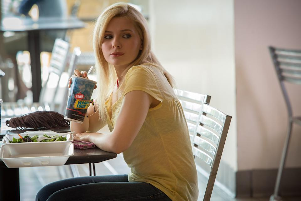 "This film image released by Sony - TriStar Pictures shows Abigail Breslin in a scene from ""The Call."" (AP Photo/ Sony-TriStar Pictures, Greg Gayne)"