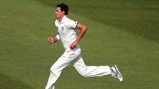 Mitchell Starc has a back injury