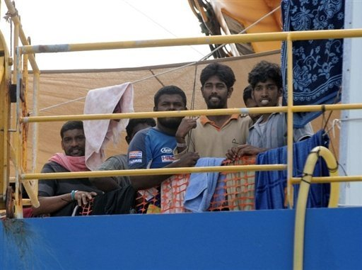 Sri Lankan Asylum-Seekers In Custody In Indonesia