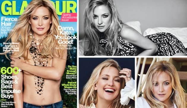 Kate Hudson in Glamour, April 2013 -- Patrick Demarchelier/Glamour