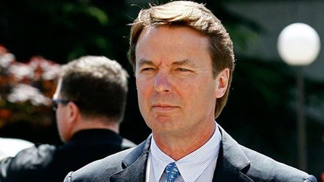 Prosecution claims voicemail shows John Edwards cover-up