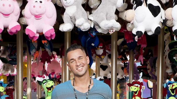 "Mike ""The Situation"" Sorrentino back in Seaside, NJ for Season 5 of ""Jersey Shore."""