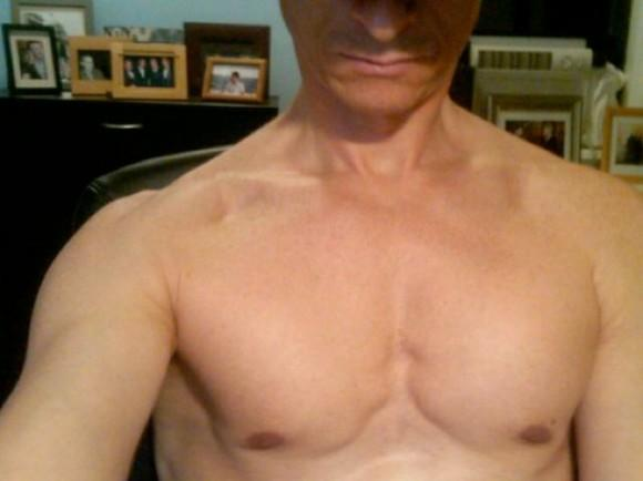 Madam Tussaud's wax Anthony Weiner chest. Major turn-off.