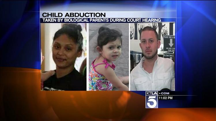 Child Abduction Alert Issued After Biological Parents Take Toddler From Court: LAPD