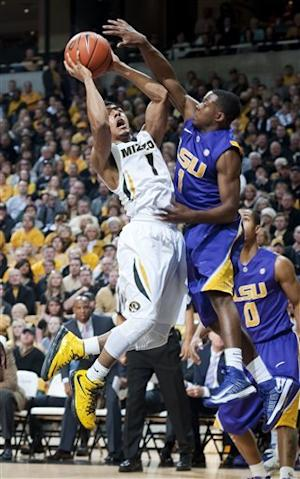 Missouri stays perfect at home, beats LSU