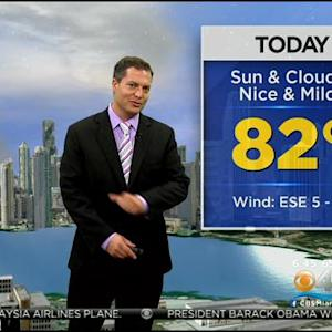 CBSMiami Weather @ Your Desk - 3/10/14 6:00 a.m.