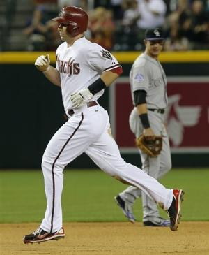 Goldschmidt's homer lifts DBacks over Rockies
