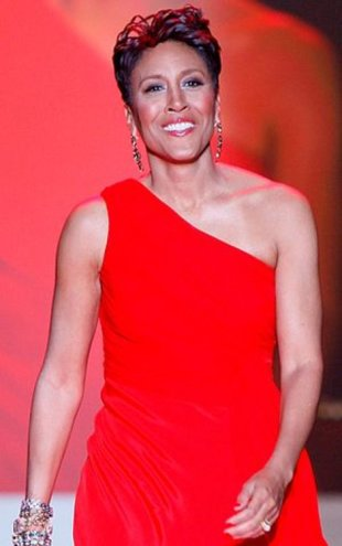 Robin Roberts at The Heart Truth's Red Dress Collection 2010
