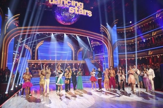 The cast during Week 4 of 'Dancing with the Stars: All-Stars,' Oct. 16, 2012 -- ABC
