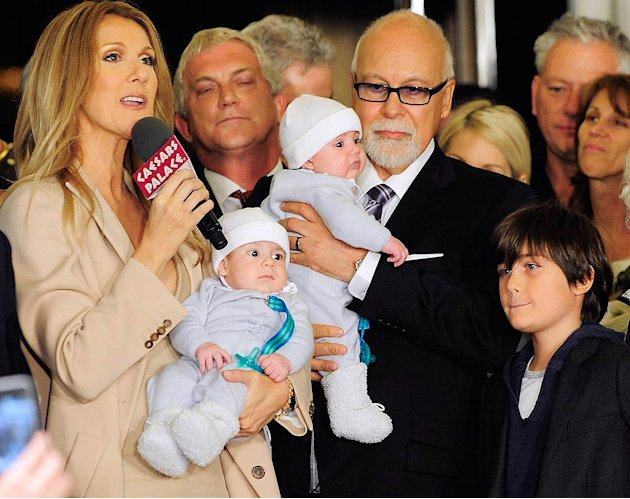 Celine Dion family Vegas Press Conf