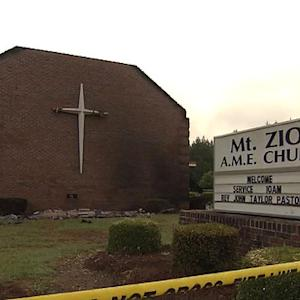 Feds investigate burning of black church