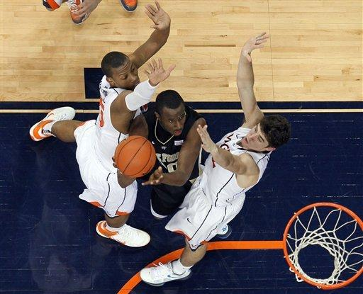 Scott (9-for-9) helps No. 19 Virginia beat Wake
