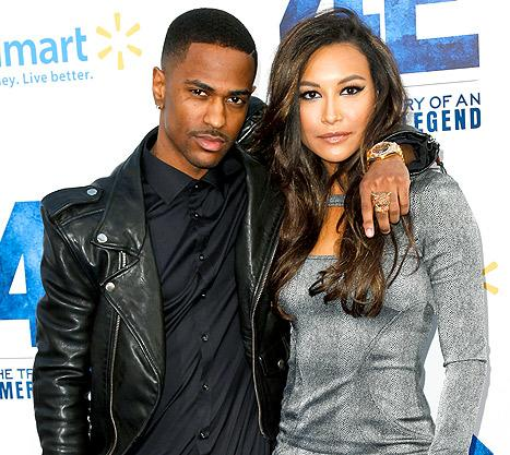 Naya Rivera Dating Big Sean: Glee Star and Rapper Make Red Carpet Debut as a Couple