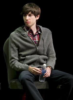 """FILE - In this Oct. 1, 2012 file photo, Tumblr founder David Karp participates in the """"Bloomberg Leadership Summit"""" seminar in New York. Karp, 26, who founded Tumblr, the online blogging forum, and sold it to Yahoo for $1.1 billion, doesn't even have a high school diploma. Karp's mother told the AP that she let him leave school because she realized """"he needed the time in the day in order to create.""""  (AP Photo/Charles Sykes/Invision for Advertising Week)"""