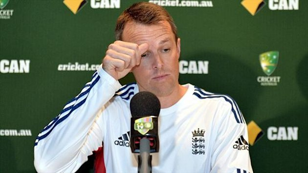 England coach Andy Flower would have liked newly retired spinner Graeme Swann (pictured) to have seen out the tour of Australia.